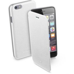 Калъф Cellularline Book Essential за iPhone 6 - White